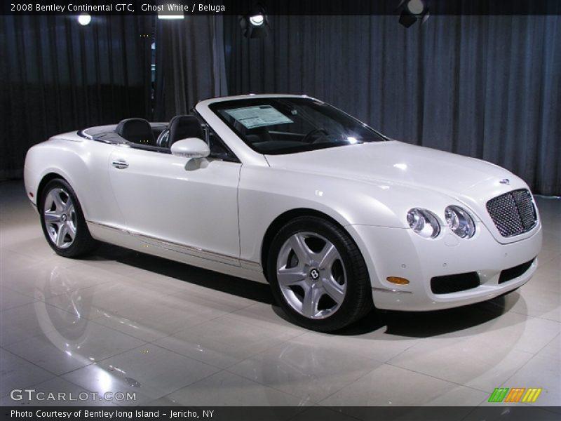 Ghost White / Beluga 2008 Bentley Continental GTC