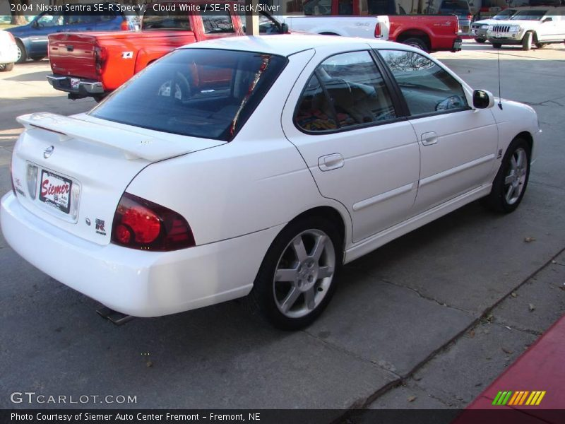2004 Nissan Sentra Se R Spec V In Cloud White Photo No 21362771