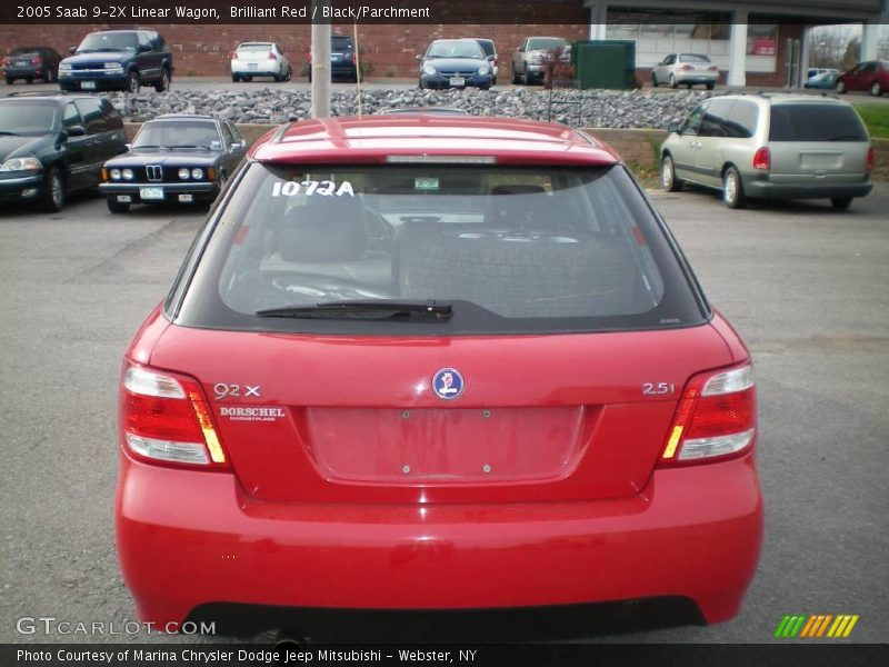 2005 saab 9 2x linear wagon in brilliant red photo no. Black Bedroom Furniture Sets. Home Design Ideas