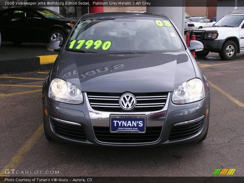 2008 volkswagen jetta wolfsburg edition sedan in platinum. Black Bedroom Furniture Sets. Home Design Ideas