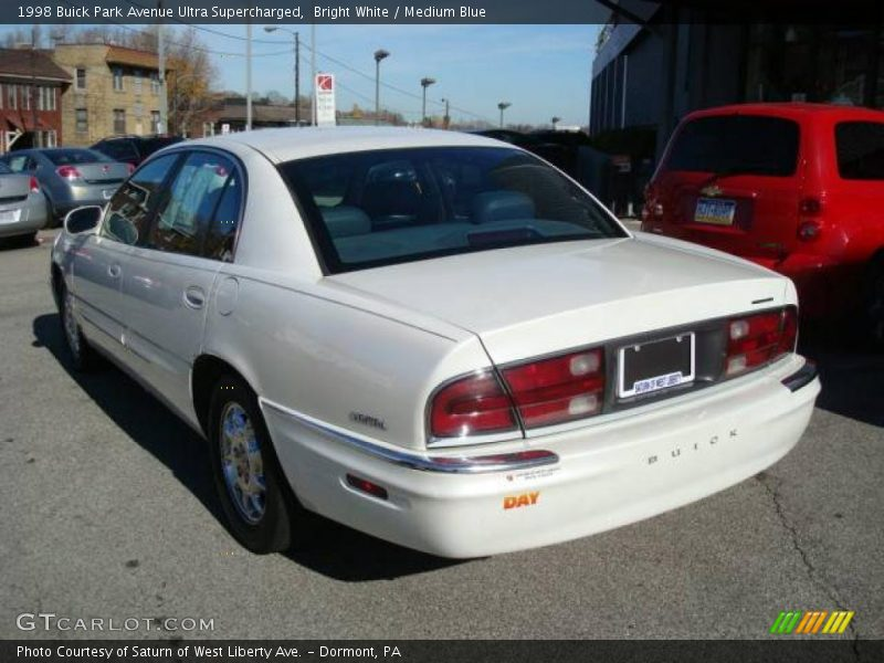 1998 buick park avenue ultra supercharged in bright white photo no 21644304. Black Bedroom Furniture Sets. Home Design Ideas