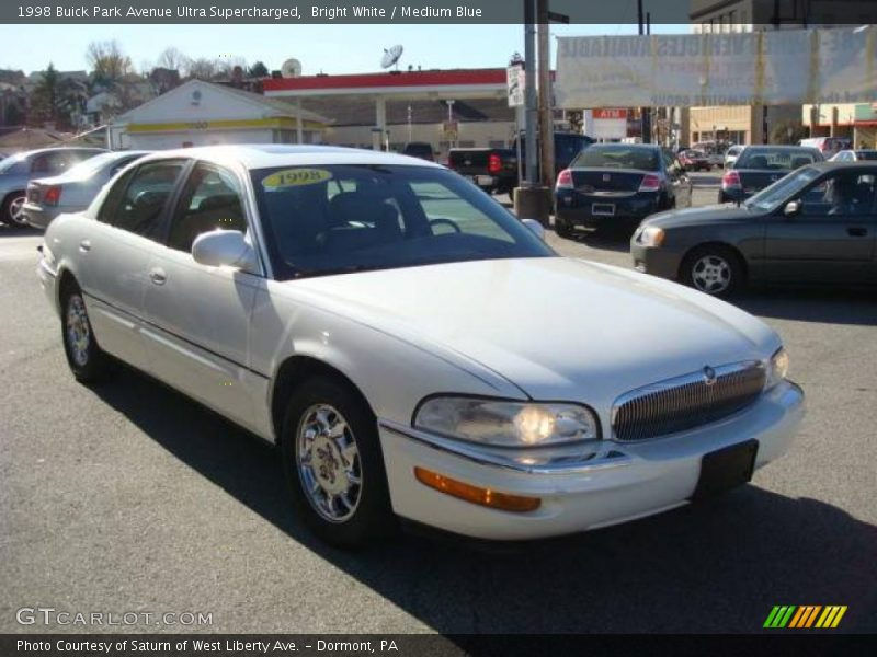 1998 buick park avenue ultra supercharged in bright white photo no 21644344. Black Bedroom Furniture Sets. Home Design Ideas