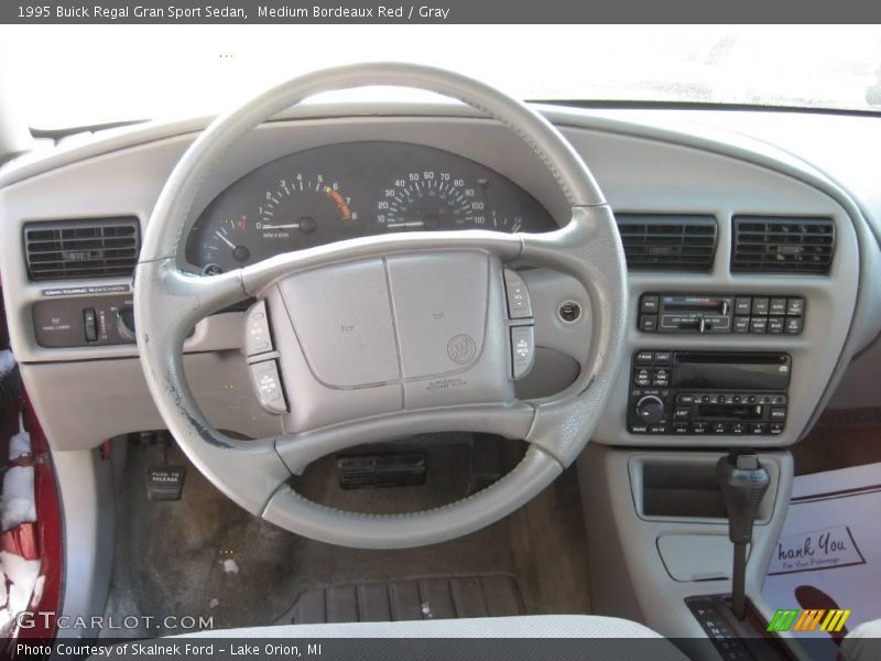 Gray 1995 Buick Regal Gran