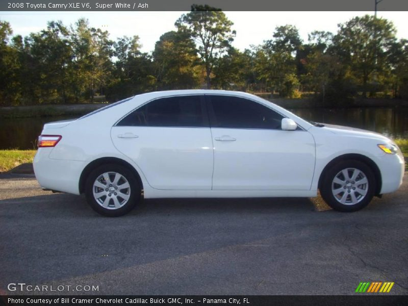 2008 toyota camry xle v6 in super white photo no 21803253. Black Bedroom Furniture Sets. Home Design Ideas