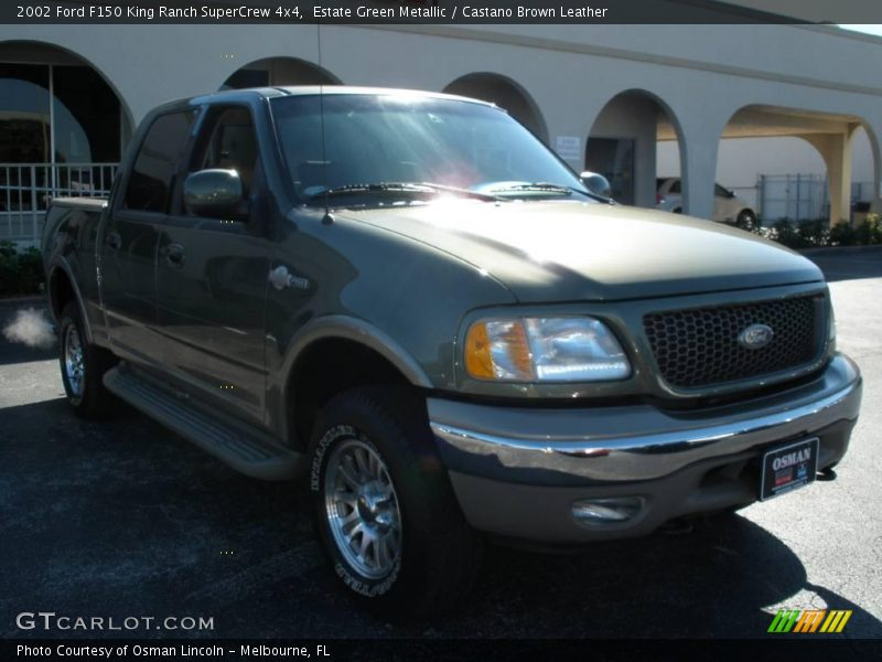 2002 ford f150 king ranch supercrew 4x4 in estate green metallic photo no 2183066. Black Bedroom Furniture Sets. Home Design Ideas