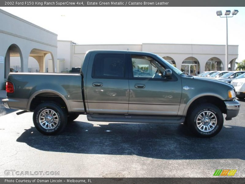 2002 ford f150 king ranch supercrew 4x4 in estate green metallic photo no 2183076. Black Bedroom Furniture Sets. Home Design Ideas