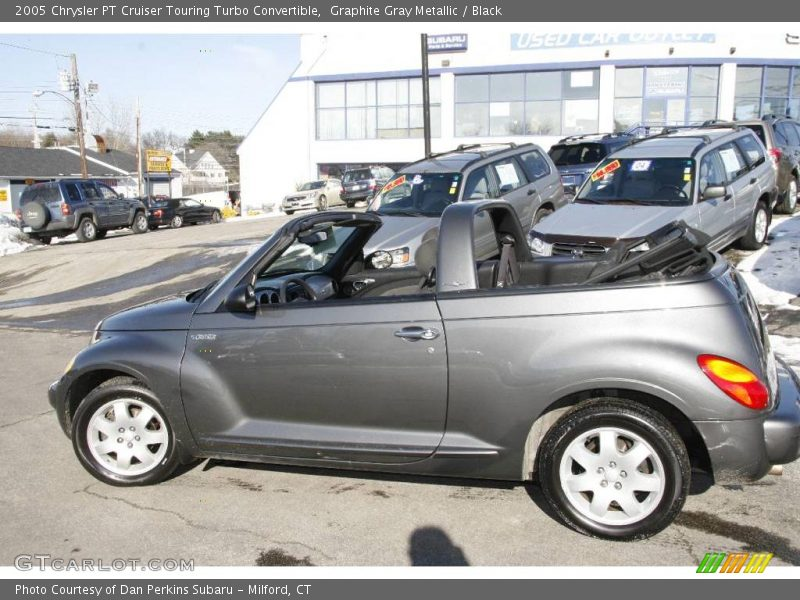 2005 chrysler pt cruiser touring turbo convertible in graphite gray metallic photo no 2184536. Black Bedroom Furniture Sets. Home Design Ideas