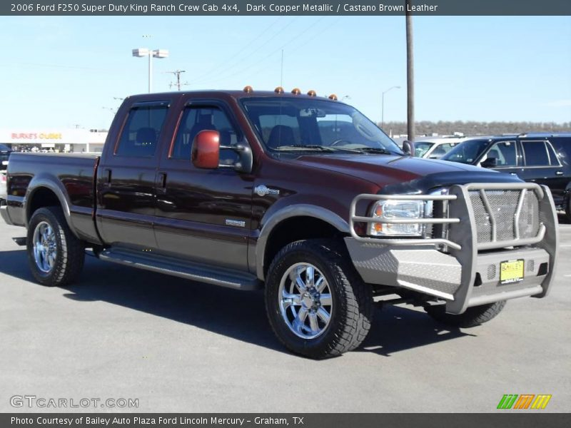 2006 ford f250 super duty king ranch crew cab 4x4 in dark. Black Bedroom Furniture Sets. Home Design Ideas