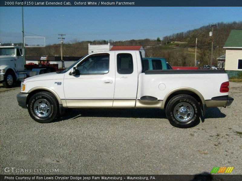 2000 ford f150 lariat extended cab in oxford white photo no 21896301. Black Bedroom Furniture Sets. Home Design Ideas