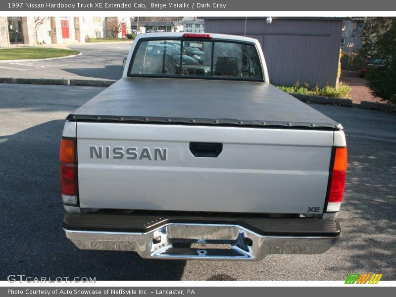 1997 nissan hardbody truck xe extended cab in beige metallic photo no 22076073. Black Bedroom Furniture Sets. Home Design Ideas