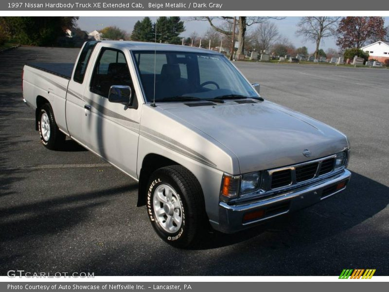 1997 nissan hardbody truck xe extended cab in beige metallic photo no 22076113. Black Bedroom Furniture Sets. Home Design Ideas