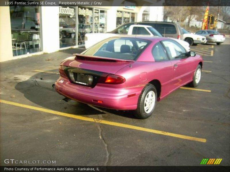 1995 Pontiac Sunfire SE Coupe in Raspberry Metallic Photo No. 22167892 ...