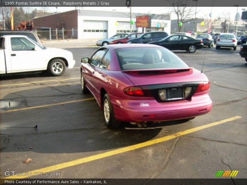 1995 Pontiac Sunfire SE Coupe in Raspberry Metallic Photo No. 22167896 ...