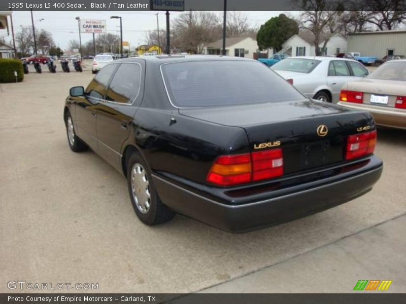 1995 lexus ls 400 sedan in black photo no 2233464. Black Bedroom Furniture Sets. Home Design Ideas