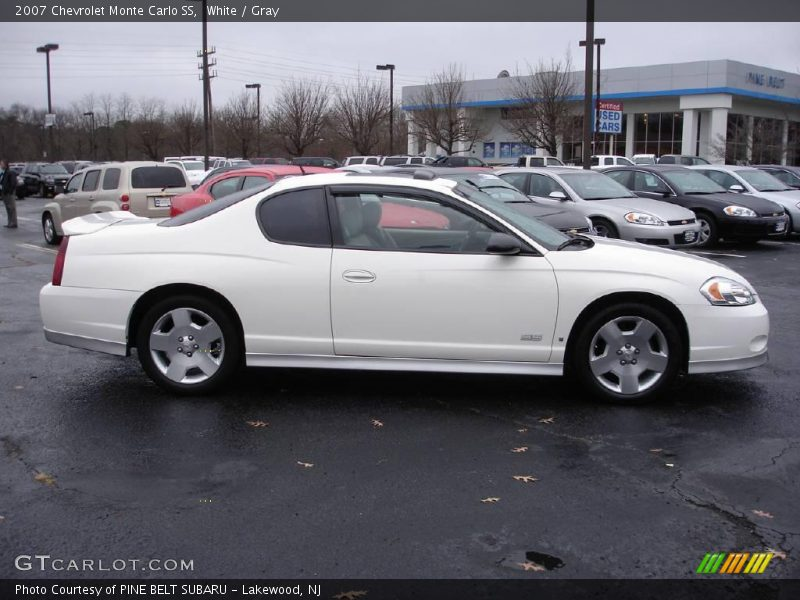 2007 chevrolet monte carlo ss in white photo no 22395609. Black Bedroom Furniture Sets. Home Design Ideas