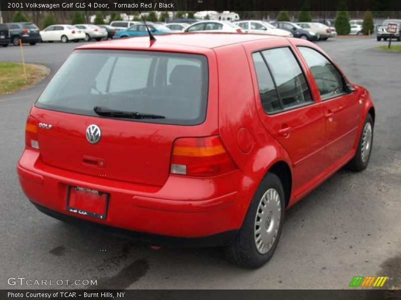 2001 volkswagen golf gls 4 door in tornado red photo no. Black Bedroom Furniture Sets. Home Design Ideas