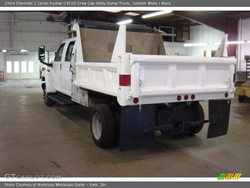 ... Black 2004 Chevrolet C Series Kodiak C4500 Crew Cab Utility Dump Truck