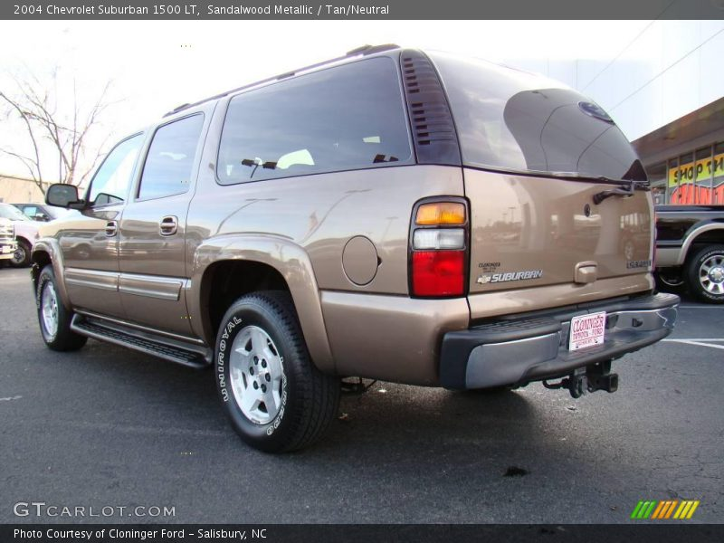 2004 chevrolet suburban 1500 lt in sandalwood metallic. Black Bedroom Furniture Sets. Home Design Ideas