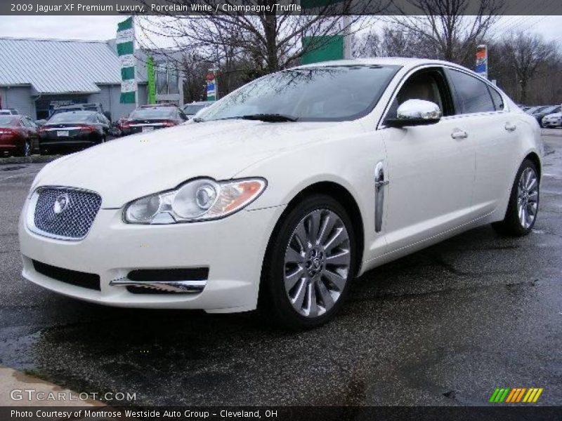 2009 jaguar xf premium luxury in porcelain white photo no 22629824. Black Bedroom Furniture Sets. Home Design Ideas