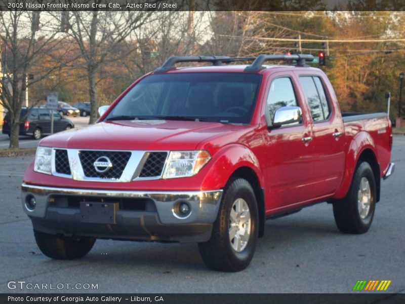 2005 nissan frontier nismo crew cab in aztec red photo no. Black Bedroom Furniture Sets. Home Design Ideas