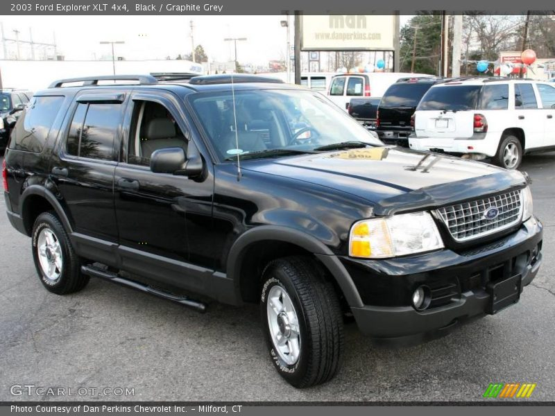 2003 ford explorer xlt 4x4 in black photo no 22657288. Cars Review. Best American Auto & Cars Review