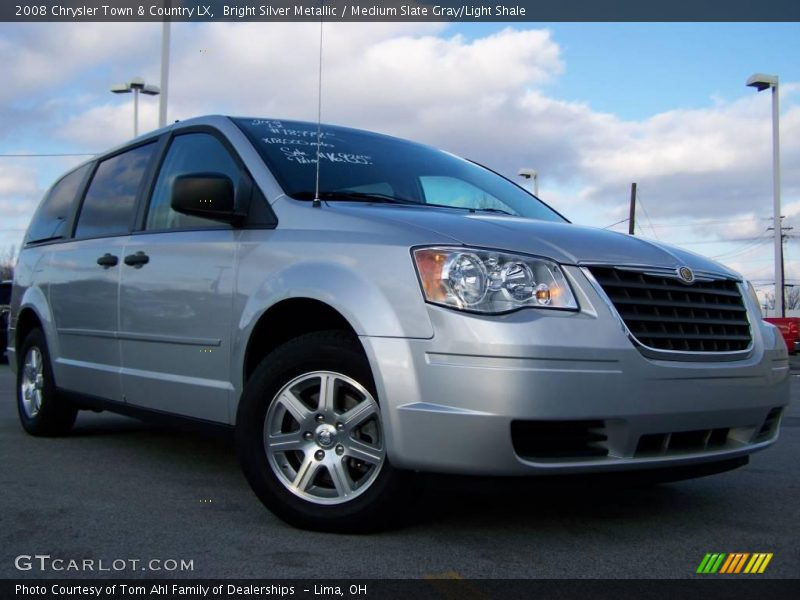 2008 chrysler town country lx in bright silver metallic photo no 22810790. Black Bedroom Furniture Sets. Home Design Ideas