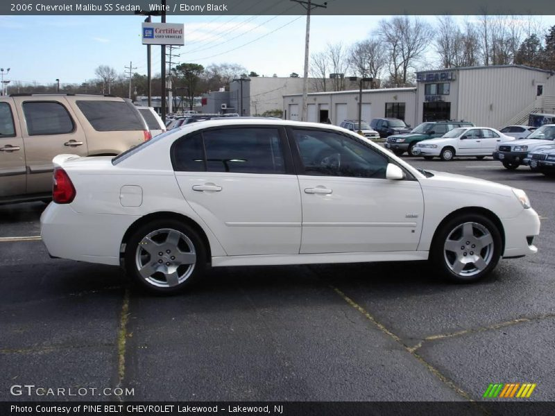 2006 chevrolet malibu ss sedan in white photo no 22853664. Black Bedroom Furniture Sets. Home Design Ideas