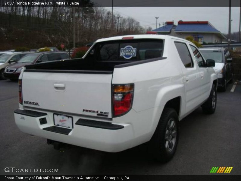 2007 Honda Ridgeline RTX in White Photo No. 22940964 | GTCarLot.com