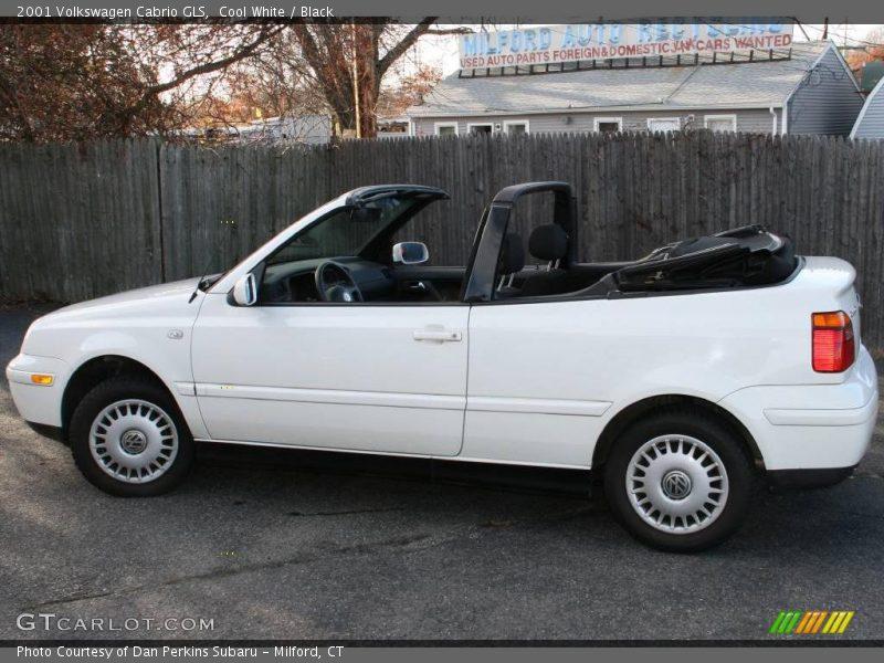2001 volkswagen cabrio gls in cool white photo no 23009825 gtcarlot com gtcarlot com