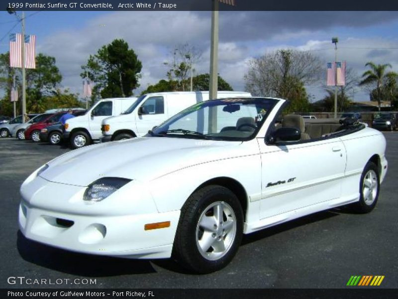 1999 pontiac sunfire gt convertible in arctic white photo. Black Bedroom Furniture Sets. Home Design Ideas