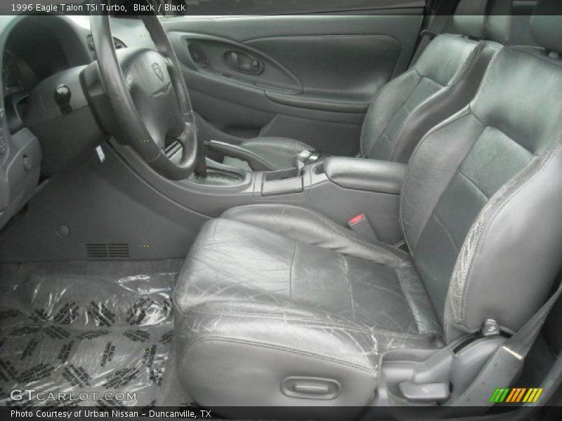 1996 Talon TSi Turbo Black Interior