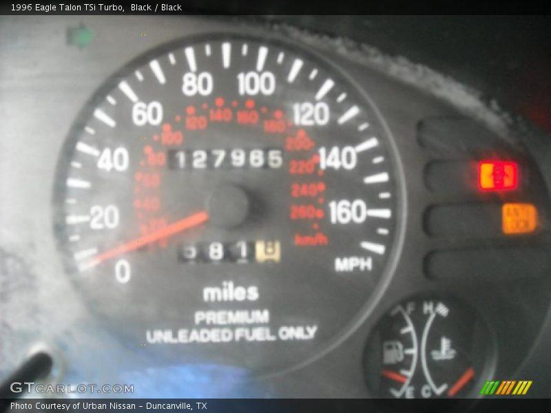 1996 Talon TSi Turbo TSi Turbo Gauges