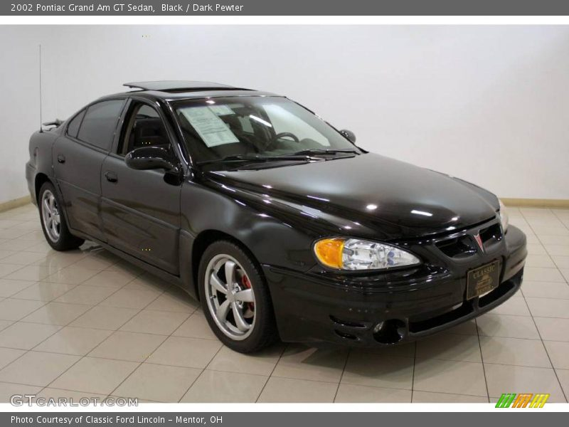 2002 pontiac grand am gt sedan in black photo no 23479158. Black Bedroom Furniture Sets. Home Design Ideas