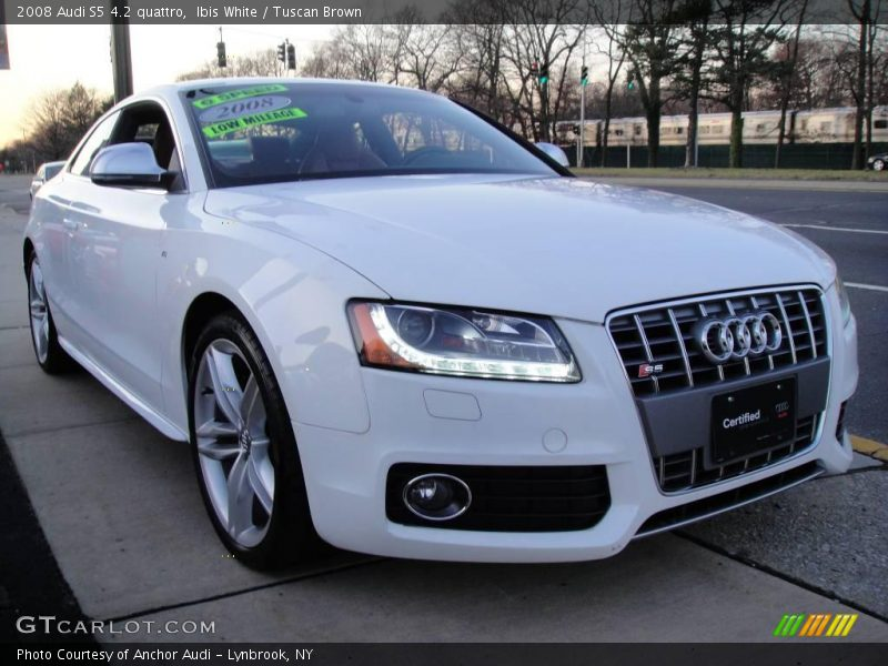 2008 audi s5 4 2 quattro in ibis white photo no 23536699. Black Bedroom Furniture Sets. Home Design Ideas