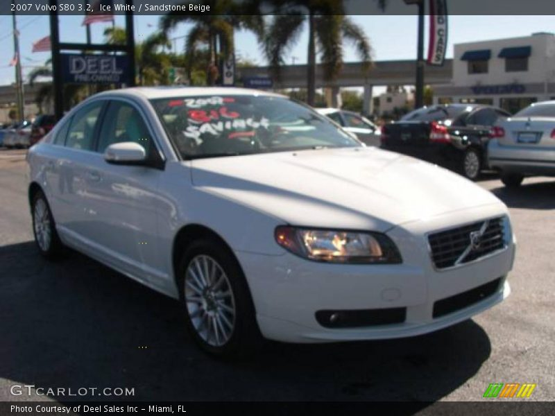 2007 volvo s80 3 2 in ice white photo no 2380289. Black Bedroom Furniture Sets. Home Design Ideas