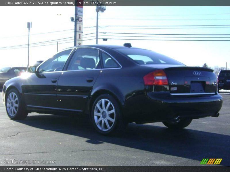 2004 Audi A6 2.7T S-Line quattro Sedan in Brilliant Black ...  2004 Audi A6 2....
