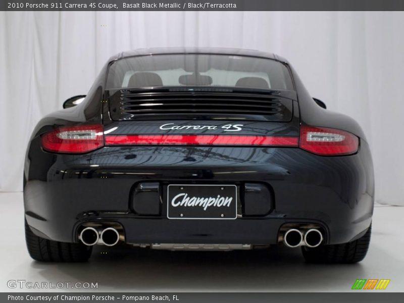 2010 porsche 911 carrera 4s coupe in basalt black metallic photo no 23926886. Black Bedroom Furniture Sets. Home Design Ideas