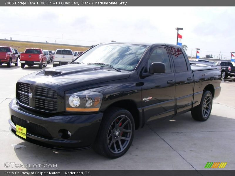2006 dodge ram 1500 srt 10 quad cab in black photo no 24001535. Black Bedroom Furniture Sets. Home Design Ideas
