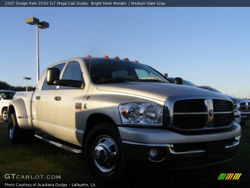 2007 Dodge Ram 3500 Slt Mega Cab News >> 2007 Dodge Ram 3500 SLT Mega Cab Dually in Bright Silver Metallic Photo No. 24002808 | GTCarLot.com