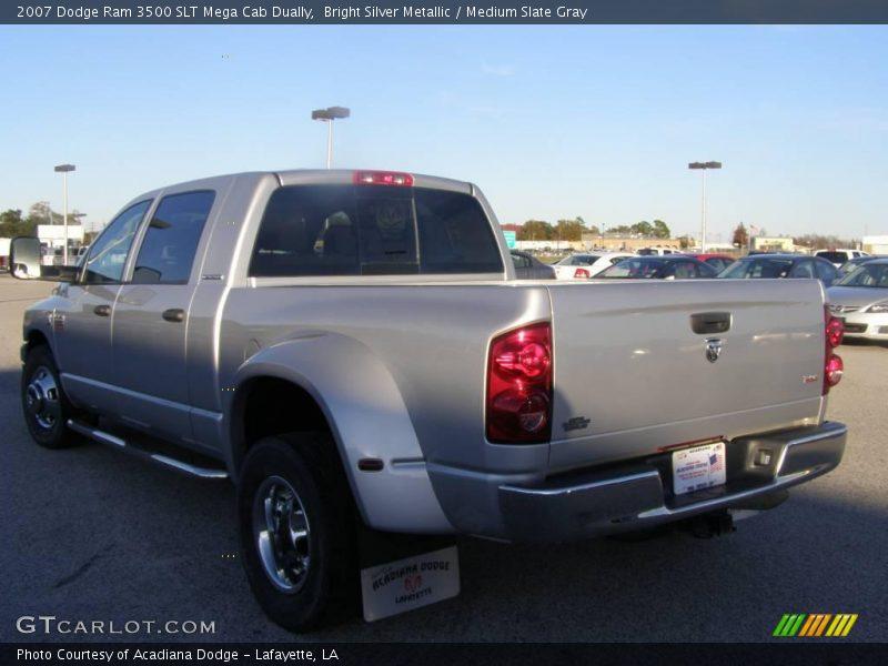 2007 Dodge Ram 3500 Slt Mega Cab News >> 2007 Dodge Ram 3500 SLT Mega Cab Dually in Bright Silver Metallic Photo No. 24002844 | GTCarLot.com