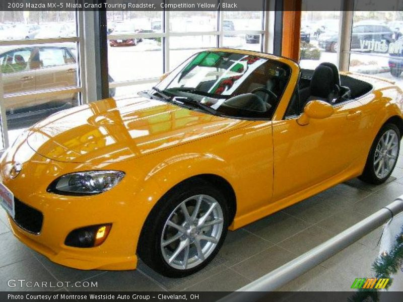 2009 Mazda Mx 5 Miata Grand Touring Roadster In Competition Yellow Photo No 24009661 Gtcarlot Com