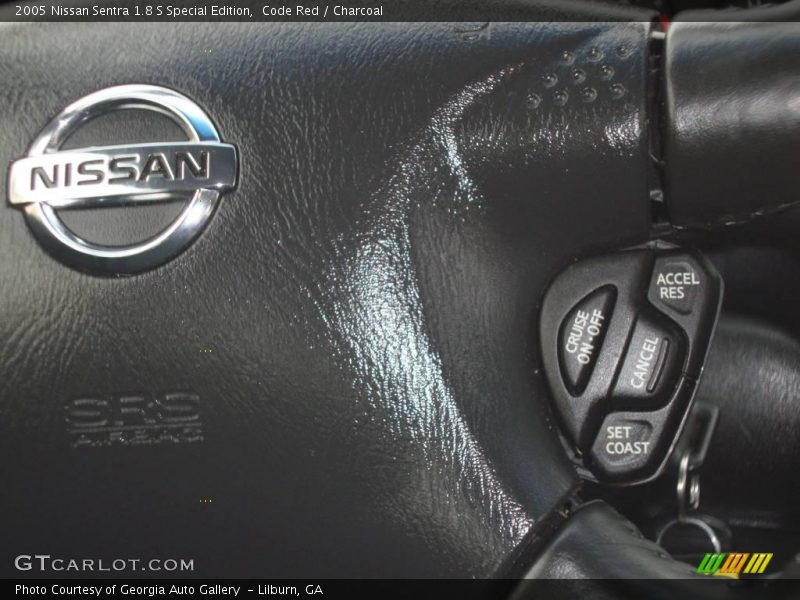 2005 nissan sentra 1 8 s special edition in code red photo no 24120498. Black Bedroom Furniture Sets. Home Design Ideas
