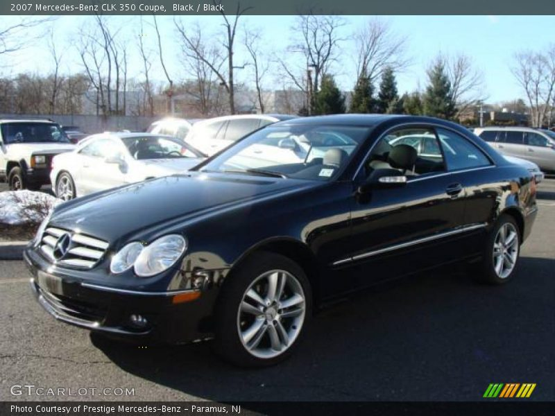 2007 mercedes benz clk 350 coupe in black photo no for 2007 mercedes benz clk