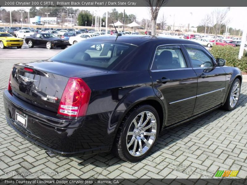 2008 chrysler 300 c srt8 in brilliant black crystal pearl. Black Bedroom Furniture Sets. Home Design Ideas