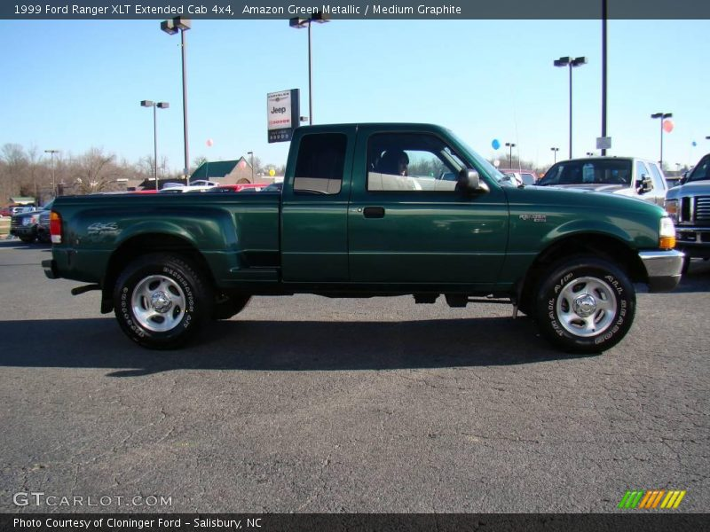 1999 ford ranger xlt extended cab 4x4 in amazon green metallic photo no 24606268. Black Bedroom Furniture Sets. Home Design Ideas