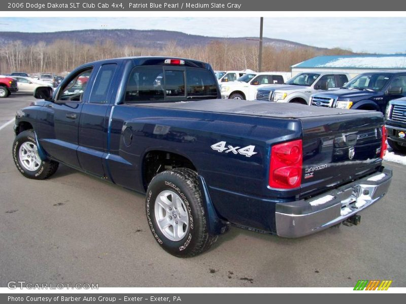 2006 dodge dakota slt club cab 4x4 in patriot blue pearl photo no 24630988. Black Bedroom Furniture Sets. Home Design Ideas