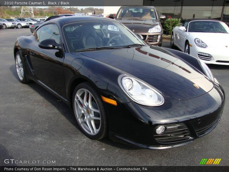 2010 porsche cayman s in black photo no 24642910. Black Bedroom Furniture Sets. Home Design Ideas