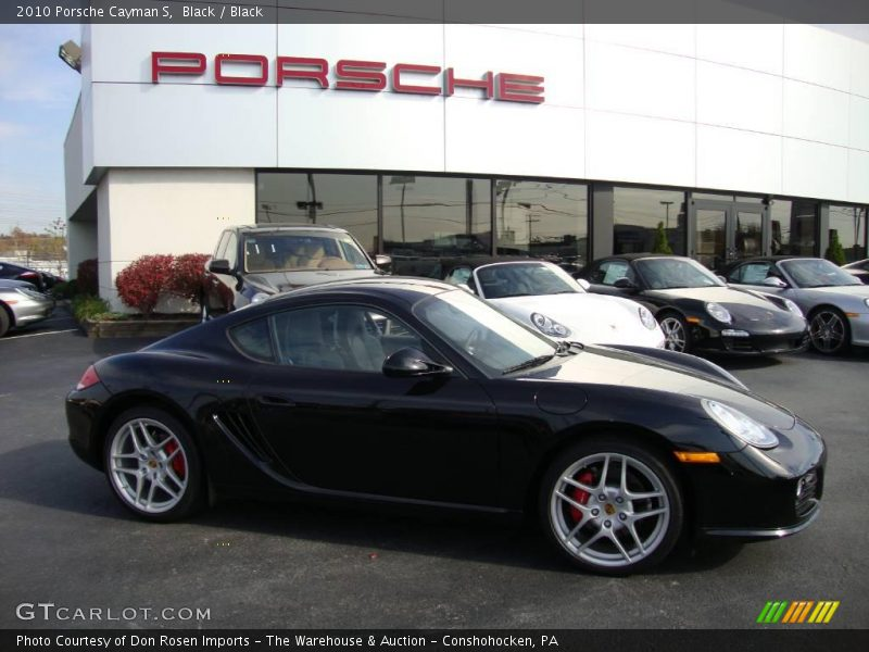 2010 porsche cayman s in black photo no 24642918. Black Bedroom Furniture Sets. Home Design Ideas