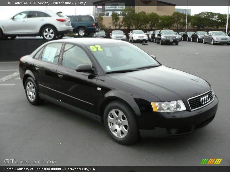 2002 Audi A4 1 8t Sedan In Brilliant Black Photo No