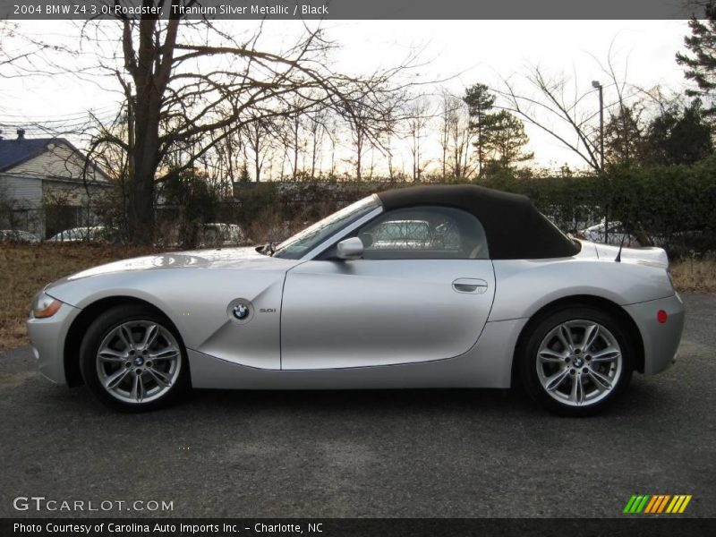2004 Bmw Z4 3 0i Roadster In Titanium Silver Metallic